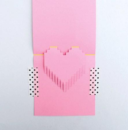 как сделать открытку пиксельное сердце человек последний