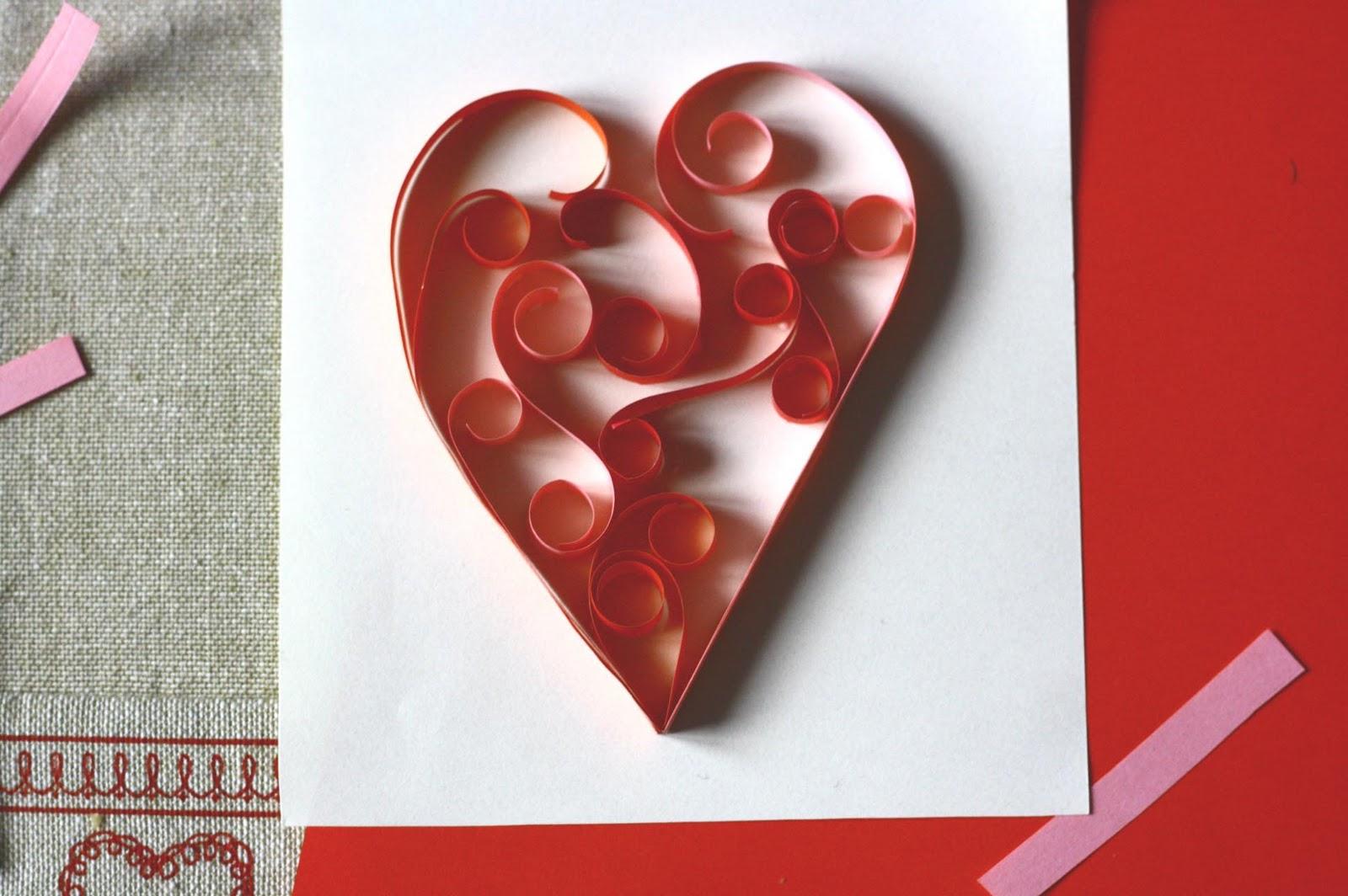 Влюбленых, открытки своими руками из бумаги легкие и красивые