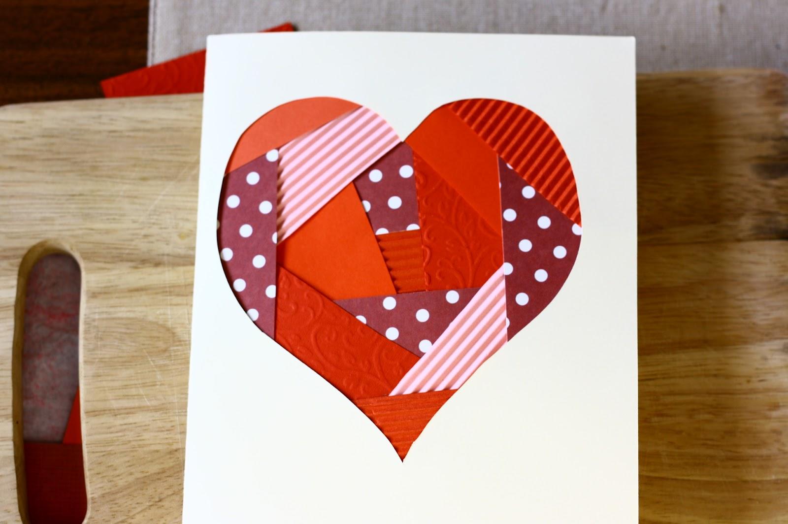 Открытки на день святого валентина своими руками из бумаги для детей