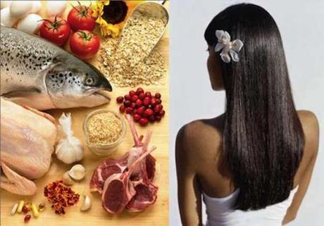 Питание для здоровых волос
