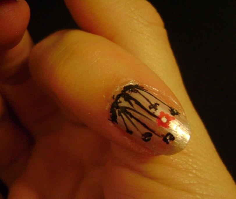 Узоры на ногтях фото