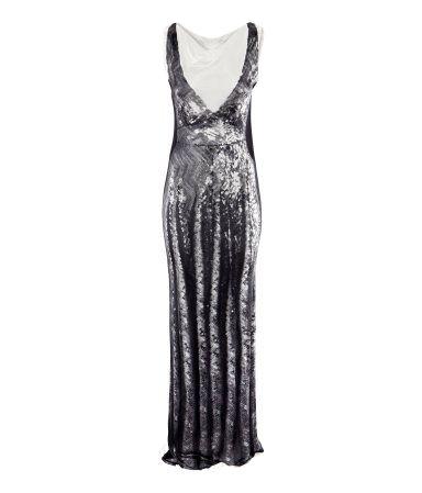 Длинные вечерние платья на новый год