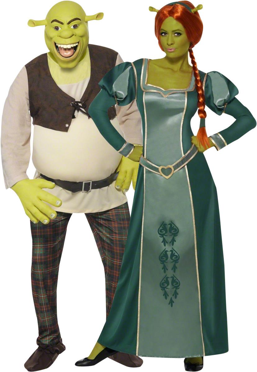Фиона и Шрек - костюмы для пары