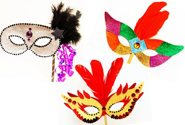 Сделать маску на карнавал своими руками