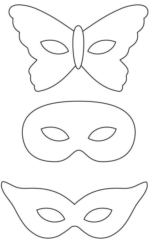 Сделать новогоднюю маску из бумаги своими руками