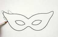 Сделать карнавальную маску своими руками