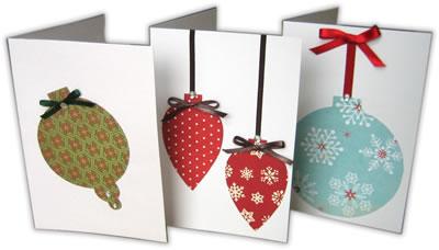 Из чего сделать открытку на новый год