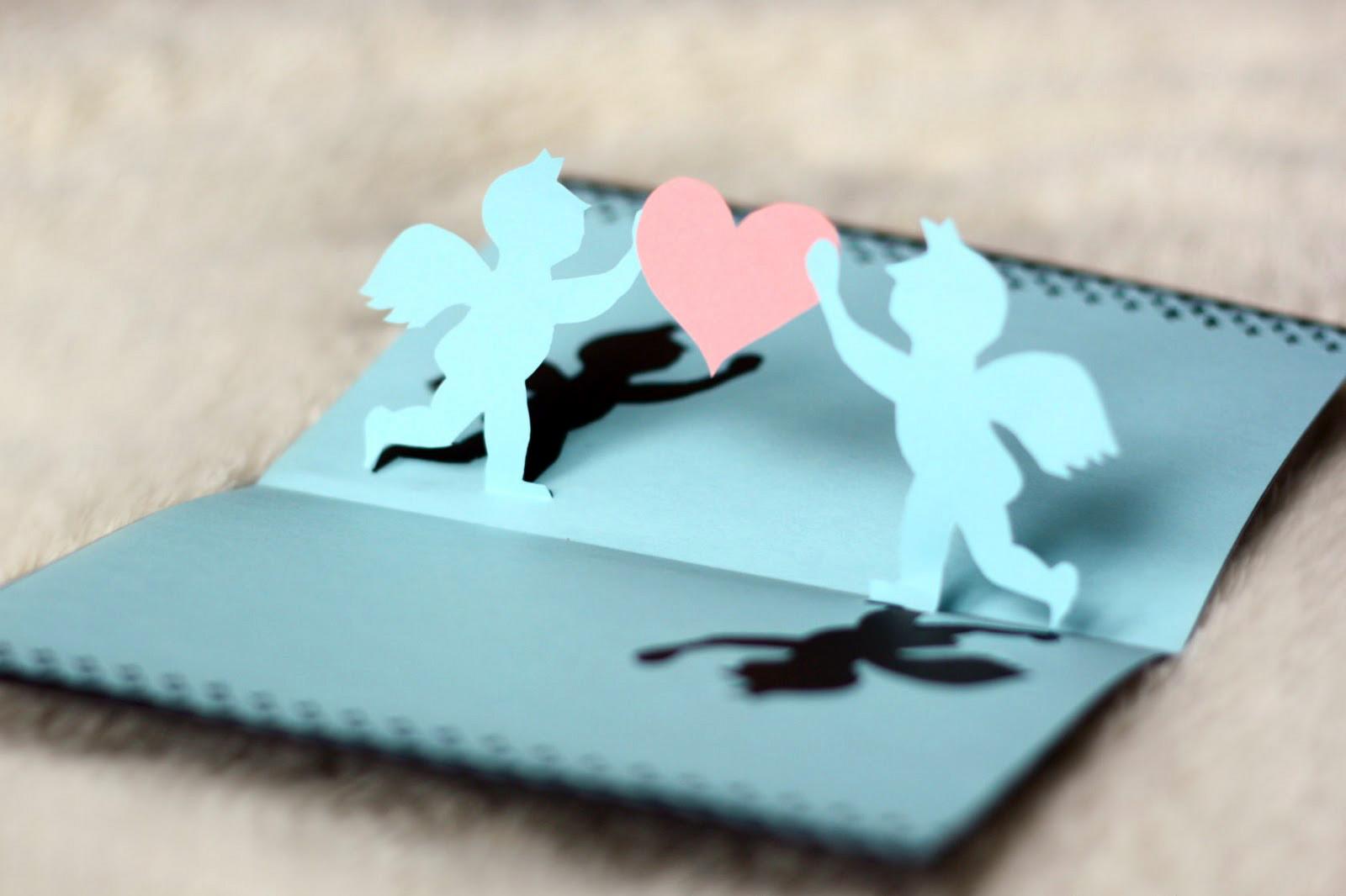 Как сделать оригинальную открытку ко Дню Святого Валентина