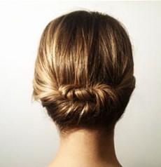 Прически с собранными волосами