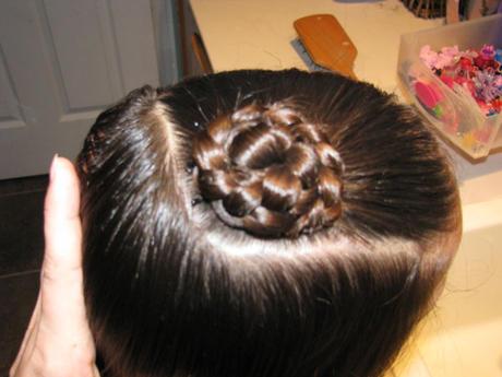 Как сделать розочки из кос