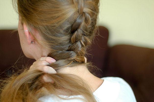Сплести косу