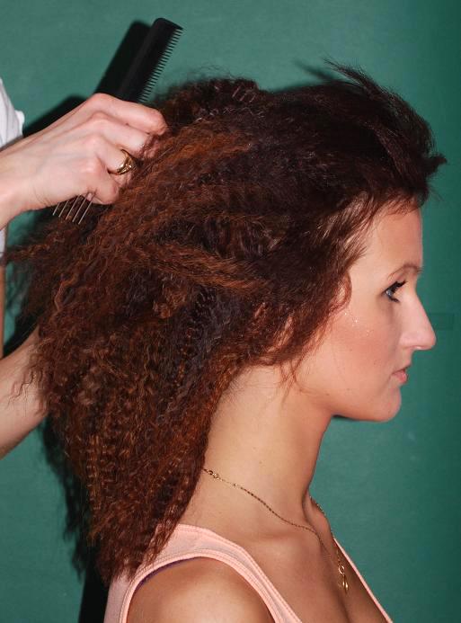 Накрутите волосы