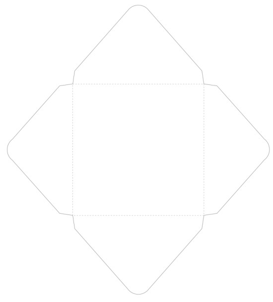 Скачайте шаблон конверта для