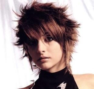 Уложенные волосы
