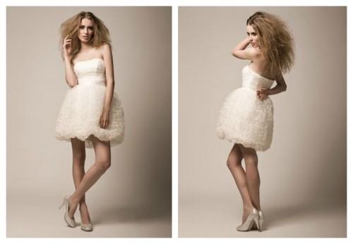 Короткое свадебное платье FEBE