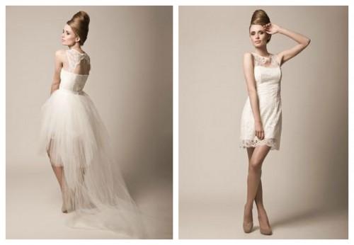 Короткое свадебное платье MEDUSA