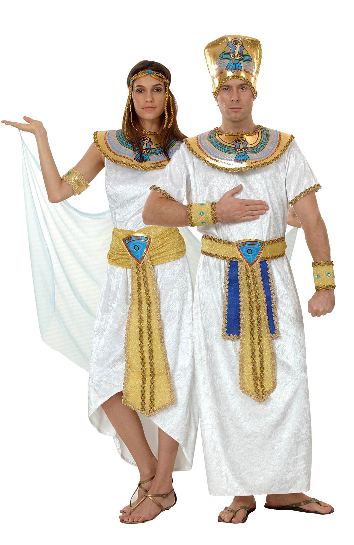 Королева Египта и фараон - костюмы для пар