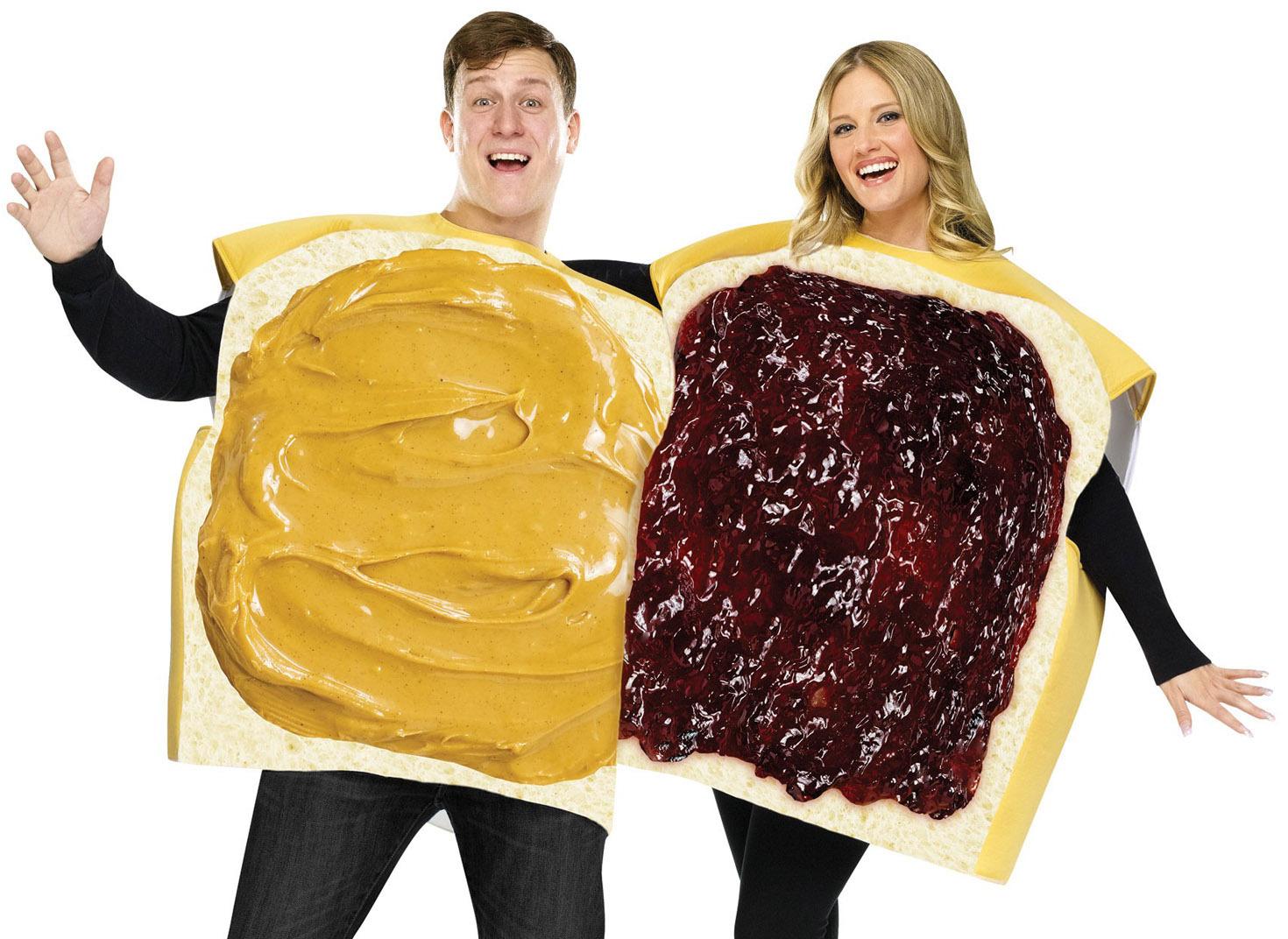 Костюм бутербродов для пар