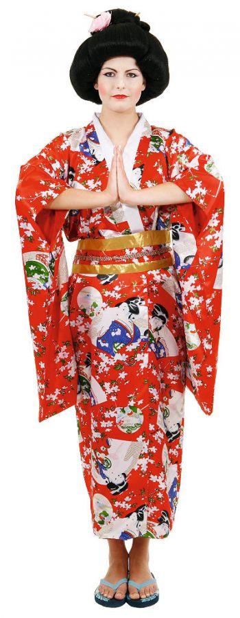 Костюм гейши для нового года