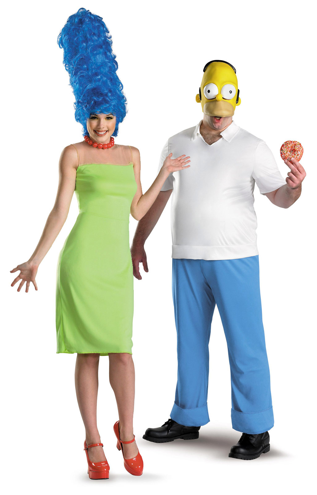 Костюм Гомера и Марджи Симпсонов - Новогодний костюм для взрослых пар