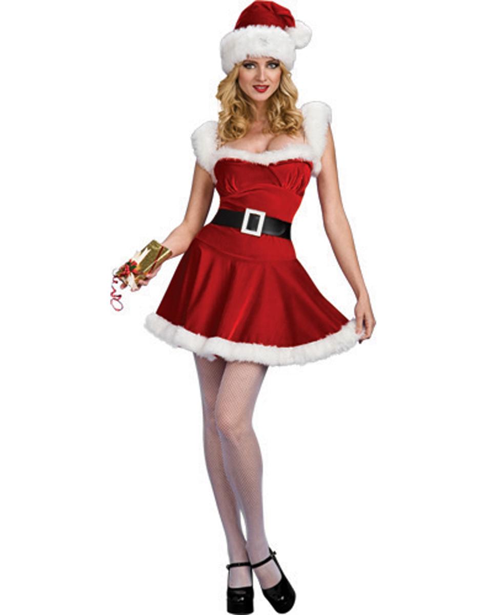 Костюм Мисс Санта для Нового года 2013