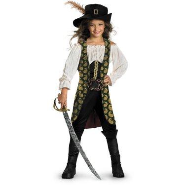 Костюм пиратки Анжелики для девочки
