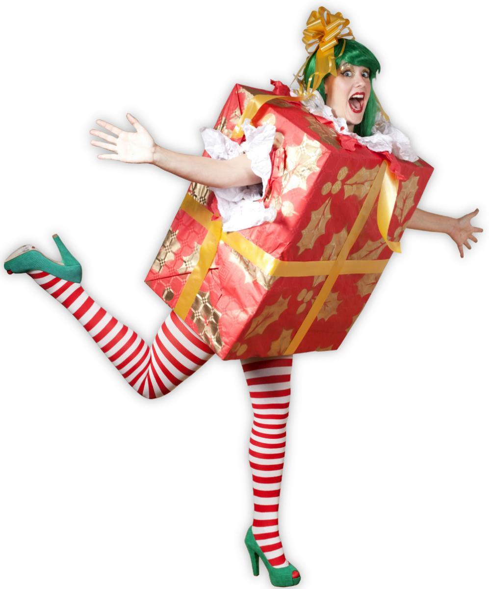 Женский костюм подарка на новый год