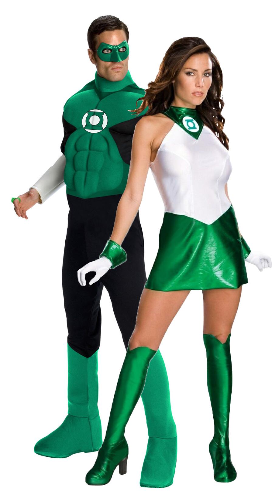 Костюм супергероев из фильма зеленый
