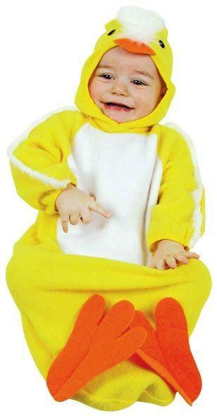 Костюм утенка для малышей