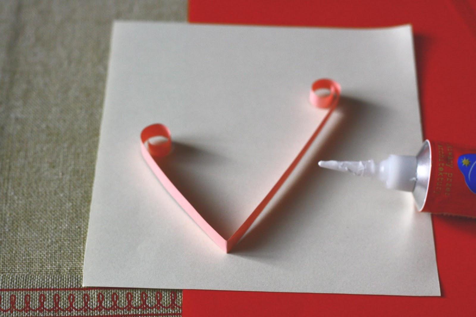 Фото как сделать валентинку своими руками