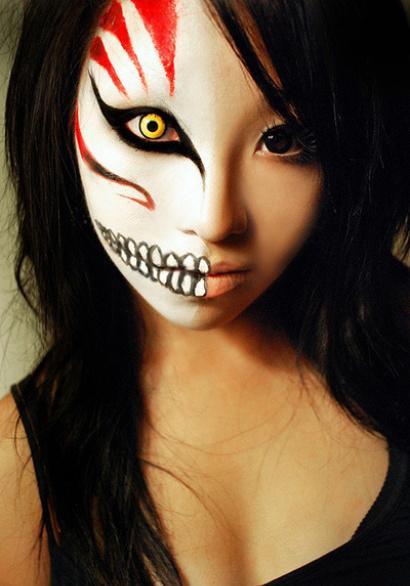 Фото макияжа на Хэллоуин