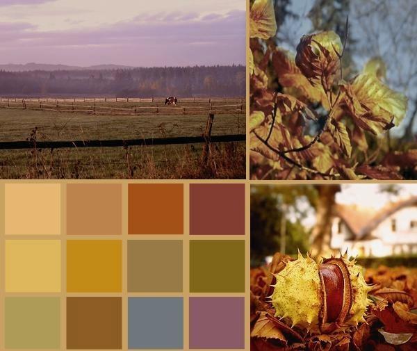 Цветотип осень макияж