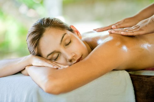 Фото массажа для похудения