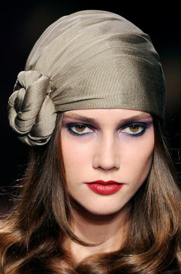 Фото шарф на голове