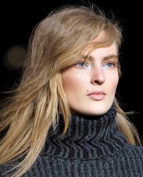 Модная укладка волос 2013
