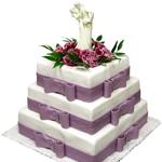 Модные свадебные торты
