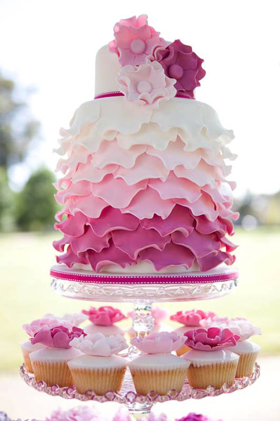Вкусный свадебный торт