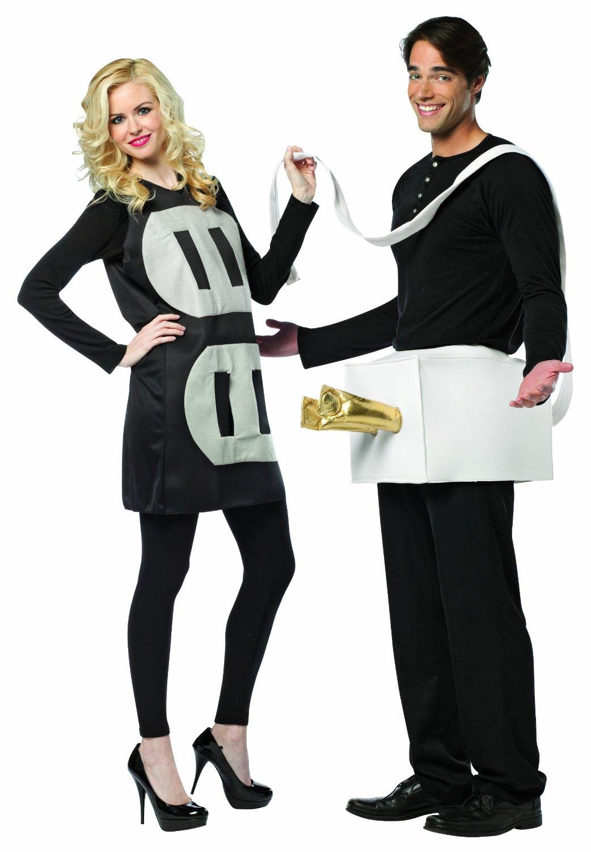 Новогодний костюм для взрослых Вилки и Розетки - для пар