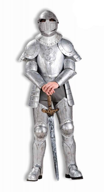 Новогодний костюм рыцаря в доспехах