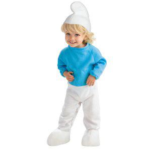 Детский костюм смурфика для Нового года