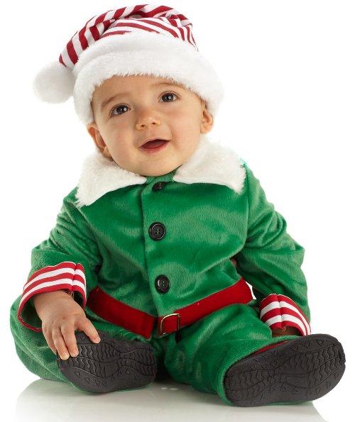 Новогодний костюм эльфа для малыша