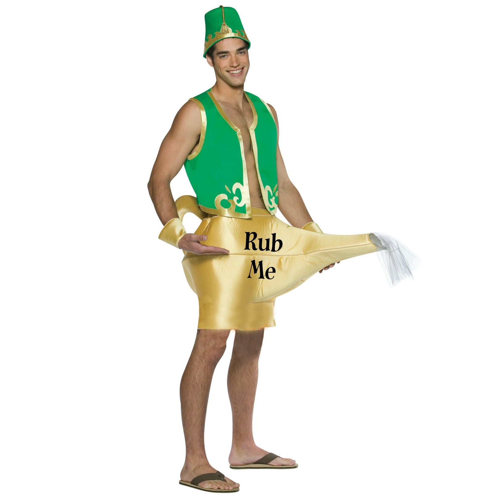 Оригинальный костюм лампы Аладдина на новый год
