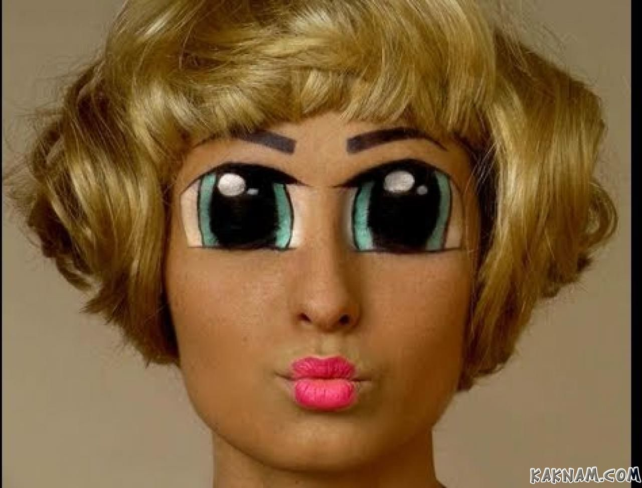 Как из себя сделать себе кукольный макияж