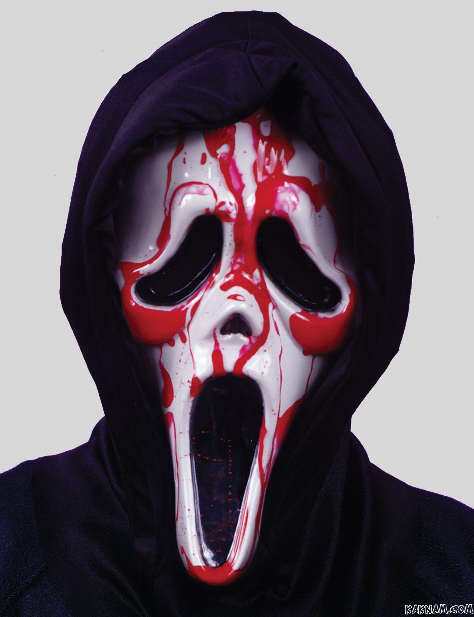 Как сделать себе маску из фильма крик