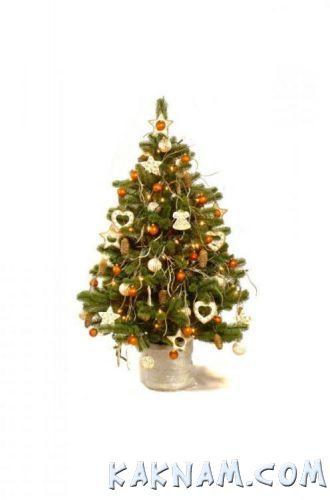 Фото, как украсить елку на Новый Год 2014-10