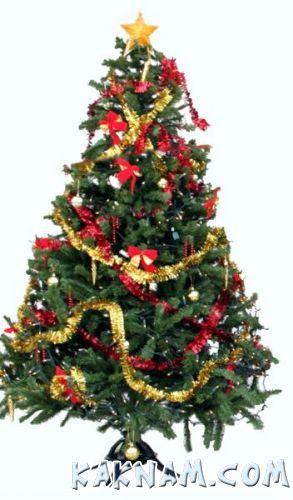 Фото, как украсить елку на Новый Год 2014-11