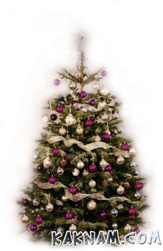 Фото, как украсить елку на Новый Год 2014-12