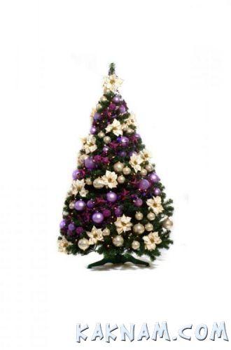 Фото, как украсить елку на Новый Год 2014-2
