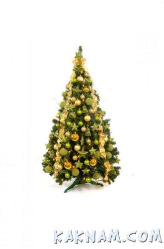 Фото, как украсить елку на Новый Год 2014-4