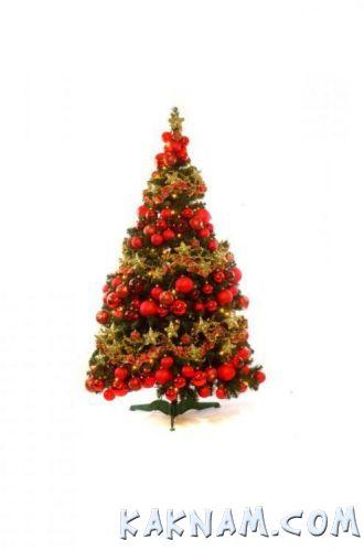 Фото, как украсить елку на Новый Год 2014-5